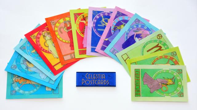 Celestia: Zodiac Illustrations