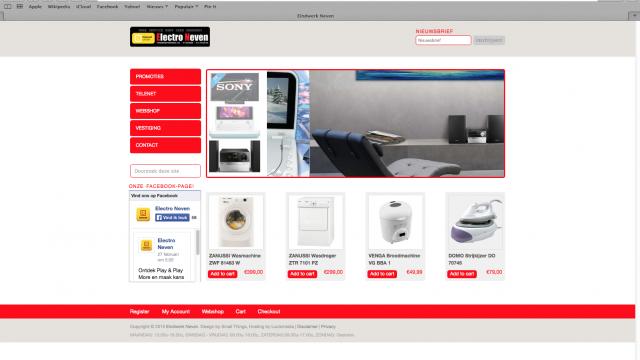Neven Endproject Webdesign